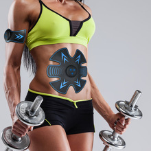 Rechargeable Abdominal Muscle Trainer Fitness Equipment  Toning Belt Machine Body Building Vibration Massager