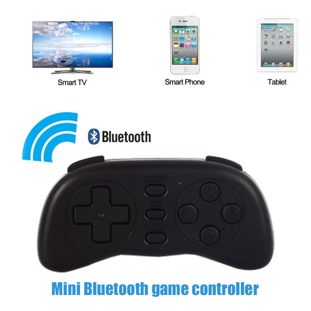 Cewaal Portable Mini Bluetooth Handle Joystick Wireless VideoGame Controller Gamepad for PC/Smart TV/IOS/Android Boy Kids Gift