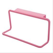 1 шт. вешалка для полотенец кухонный многоцелевой подвесной держатель Органайзер для ванной комнаты Шкаф Вешалка дверь задняя