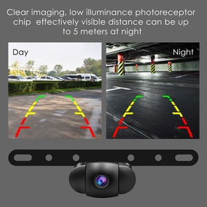 Image 4 - Accfly Wireless Car Dvr Rear View Camera Backup Parking Plate Cam with 4.3 Inch TFT Lcd Monitor for SUV
