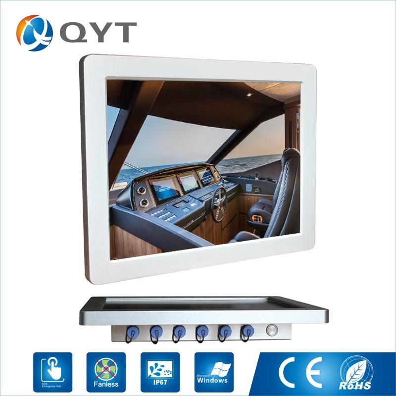 Technology globally 1024x768 resolution 15 inch Inter 3855U 6100U J1900 1000 nits High Brightness Waterproof Fanless Panel Pc