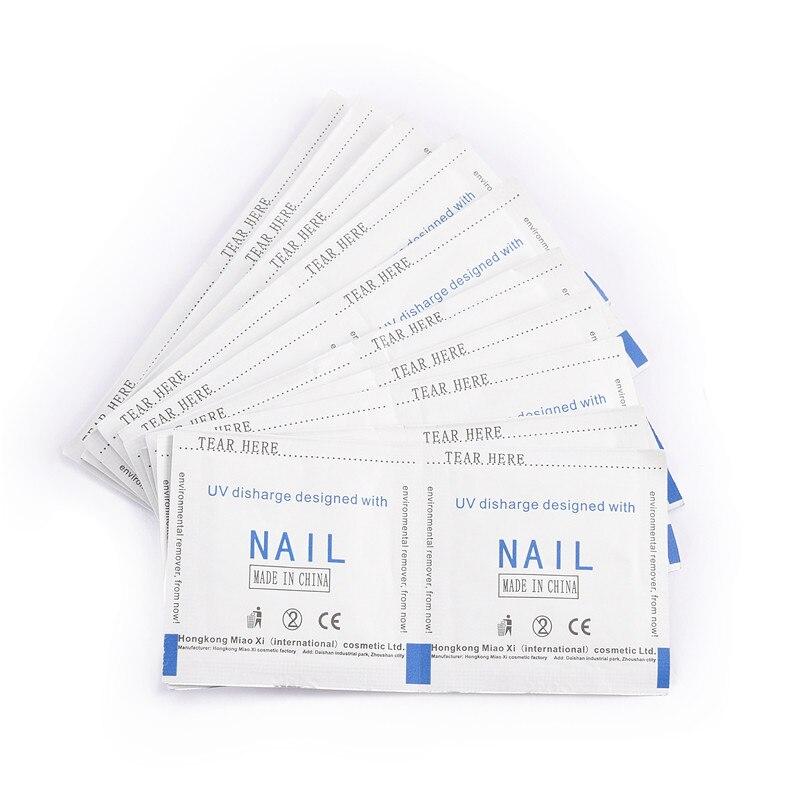 ROSALIND Professional 10PCS/LOT UV Gel Nail Polish Remover Wraps Nail Art Gel Polish Nail Art Cleaner Nails Care Tools