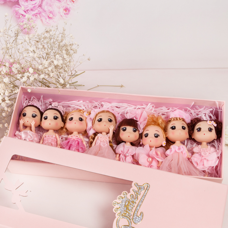 Wedding Dresses Barbie Dolls Girls Children Toys Festivals Creative Birthday Gifts