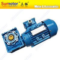 0 55KW AC 220V 3 Phases Worm Gear Motor Low Speed Large Torque For Industrial Stir