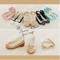 1Pair Retail  High Quality Fashion 1/3 1/4 BJD Shoes For Dolls BJD