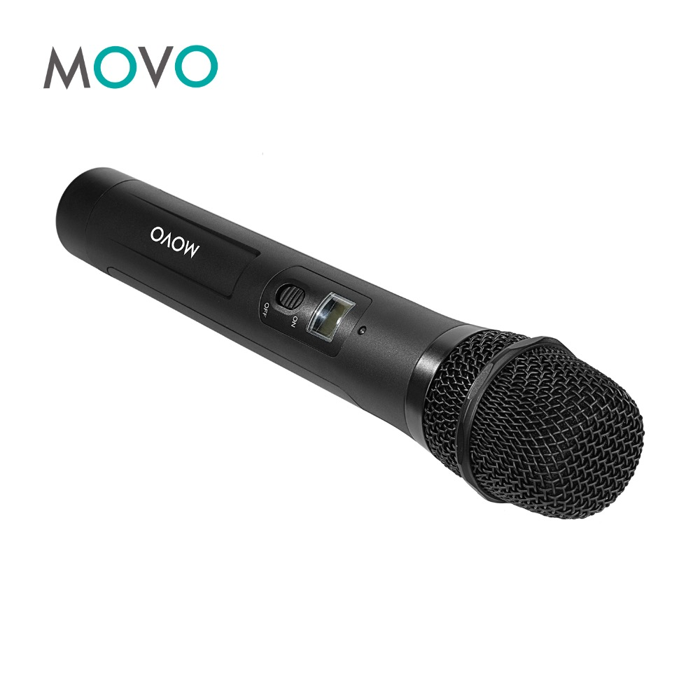 Movo WMIC80 TH 48 Channel UHF Wireless Handheld Microphone with Integrated Transmitter for the WMIC80 Wireless