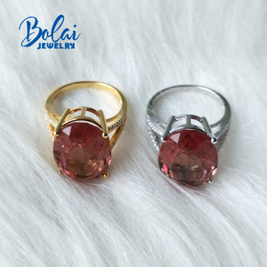 Image 4 - Bolaijewelry、zultaniteリング925スターリングスライバーファインジュエリー宝石作成色変更エレガントなデザイン最高品質のギフト