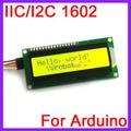 10 unids/lote IIC/I2C 1602 Módulo de Pantalla LCD Olivino Amarillo Verde Blacklight