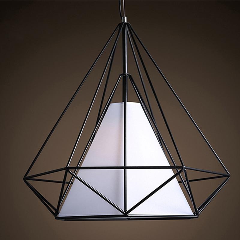 Modern Home Decor Lighting Wrought Iron Pendant Lamp Vintage Pendant