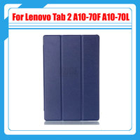 3in1 Pu Leather Tablet Case For Lenovo Tab 2 A10 70 10 1 Case For Lenovo