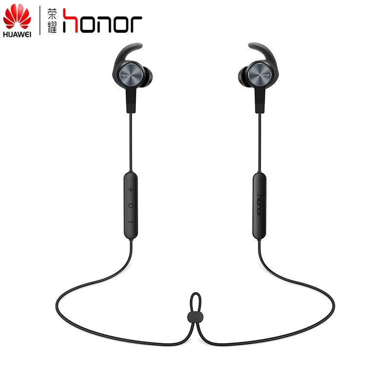 Ursprünglicher Huawei Honor xSport AM61 Bluetooth Headset IPX5 Wasserdicht BT4.1 Musik Mikrofon Steuerung Drahtlose Kopfhörer für Android IOS
