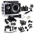 Hot Sale Hero 3 Cam Style 1080P Full HD Waterproof Sport Action Camera SJ4000 Extreme Helmet Sports Camara Add battery+ monopod