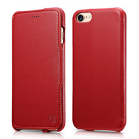 For IPhone 7 Case Benuo Luxury Series Genuine Leather Ultra Slim Magnetic Closure With Built In