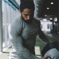 YEMEKE Brand Men S T Shirts Compression Shirt Crossfit T Shirt Long Sleeve Camouflage Homme Fitness
