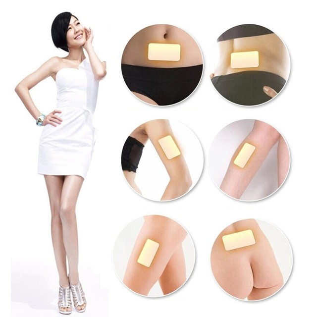 10 pcs slimming navel stick slim patch magnetic weight loss.
