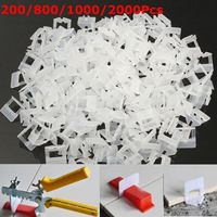 Tile Leveling System 200-800x Clips Kit Wall Floor Tile Spacer Tiling   Tool   1.0mm