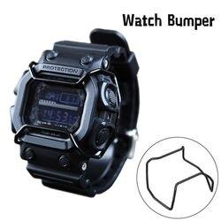Ze stali nierdzewnej Protector drut zegarek straż dla GX-56 GXW-56 DW6600 6900 5600 5610 GW9400