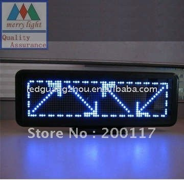 Free Shipping Blue LED Advertisment Desk Board with million languages C1664B to display text logo timer clock
