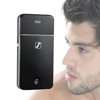 New Fashion Electric Rechargeable Shaver Beard Trimmer Electric Razor Men S Hair Shaving Machine Classical Black