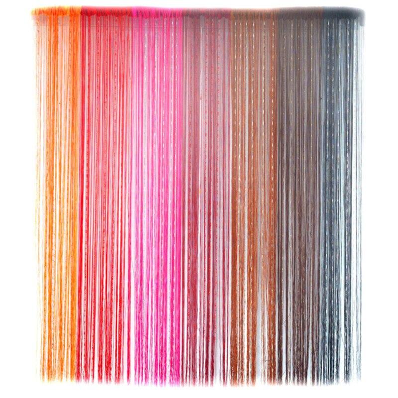Best 100200cm String Curtains Patio Door Fly Screen Curtains Door