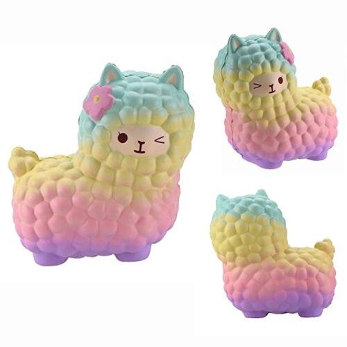 12 Cm Nette Alpaka Squishy Squeeze Entlasten Stress Langsam Steigenden Kinder Spielzeug Decor Geschenke Herausragende Eigenschaften