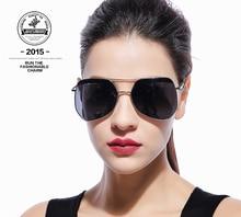 Sunglasses female smudge ants sunglasses big box color film long women's polarized sunglasses EXIA AGENT-23