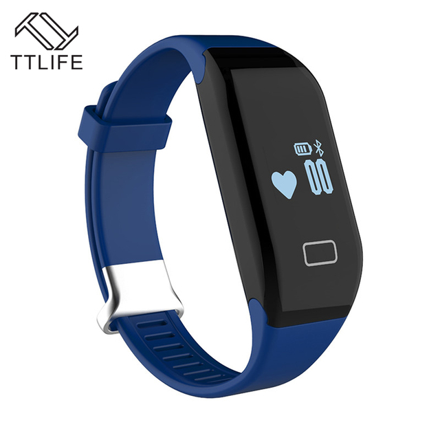 TTLIFE Brand New H3 Smart Band Bracelet & Heart Rate Monitor Activity Fitness Tracker Wristband for IOS & Android Smartphone