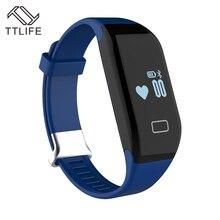 TTLIFE Новый Bluetooth H3 Смарт Браслет и монитор сердечного ритма фитнес-трекер активности браслет для iOS и Android-смартфон