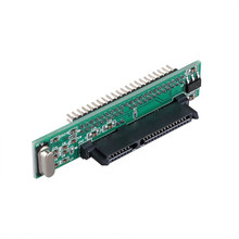 Дюймов 2,5 дюймов HDD SSD Serial ATA 7 + 15 P Женский до 44 штекер PATA IDE порты и разъёмы адаптер карты 2,5 «SATA IDE конвертер для ноутбука Drive