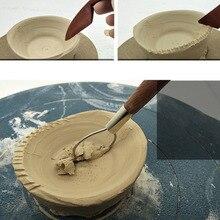 Набор глиняных инструментов из 5 предметов, красное дерево для лепки, детализации, моделирования и резьба, керамика. Лучший для Sculpey, полимер, керамика, тесто, воск