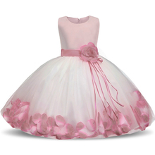 Baby Flower Baby Girl Christening Gown Baptism Clothes Newborn Baby Girl 1 Year Birthday Dress Infant Party Dresses Wear