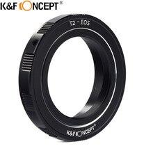 Sale K&F CONCEPT For T2-Ni Camera Lens Mount Adapter Ring For T/T2 Mount Telescopes/Lens For Canon EOS Mount DSLR/SLR Camera Body