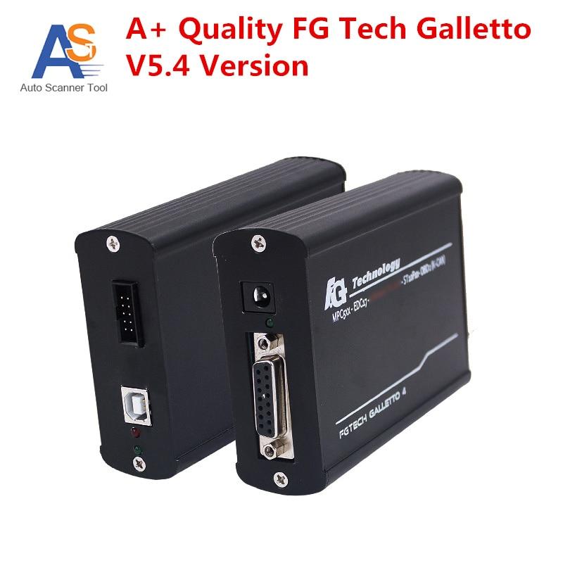 Prix pour 2017 Top A + + Qualité FGTech V5.4 ECU Chip Tuning FG Tech Galletto 4 Maître FG-TECH V5.4 OBD2 Unlock Version Ajouter OBD BDM fonction