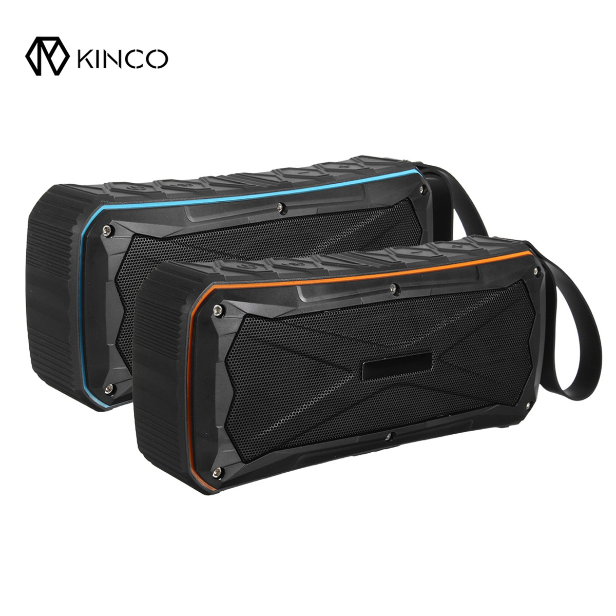 Kinco Max 20W Wireless Bluetooth 4.1 Wireless Speaker Stereo With Hand Strap Outdoor Portable Waterproof