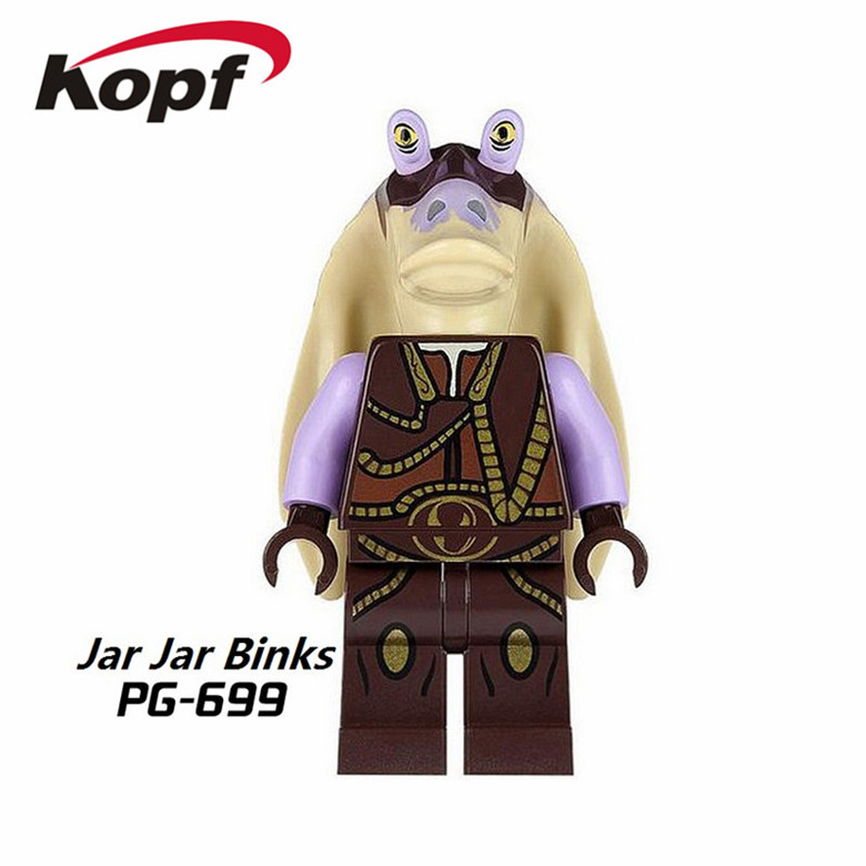 20Pcs Captain Tarpals Malakili Building Blocks Star Wars Action Figures Model Bricks Education Learning Toys for children PG699