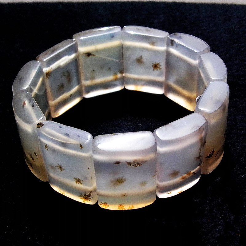 TJP wide transparent 100% Natural A Rectangle women aquatic weed growth sweet agate cuff bangle bracelet with certificate все цены