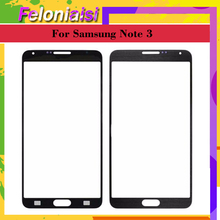 10Pcs For Samsung Galaxy Note3 Note 3 N900 N9005 N900F Note 3 Mini Lite Neo N750 N7505 Touch Screen Panel Front Outer Glass Lens newtop toughened glass screen protector for samsung galaxy note 3 n9000 n9005 transparent