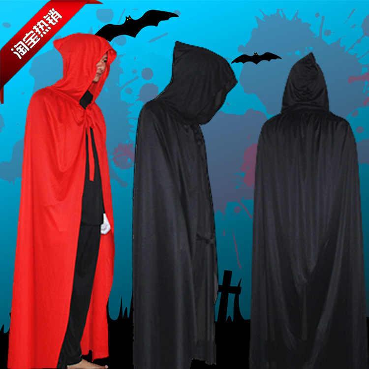חם ליל כל הקדושים מפלגה מות תחפושת גלימת קוספליי Ghost/אשף/קוסם/פיראטים גלימת גלימת ערפד תחפושות למבוגרים