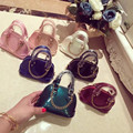New Stlyle Brand Pattern Fashion Girls Crossbody Mini Size Chains Shine Rock Shell Bags in Sale for baby or Children