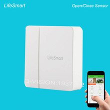 Lifesmart Wi-fi GSM/3G/4G/WiFi Anti-thief Door/Window Sensor Safety Alarm Good House Movement Detect 433MHZ Management by Cellphone