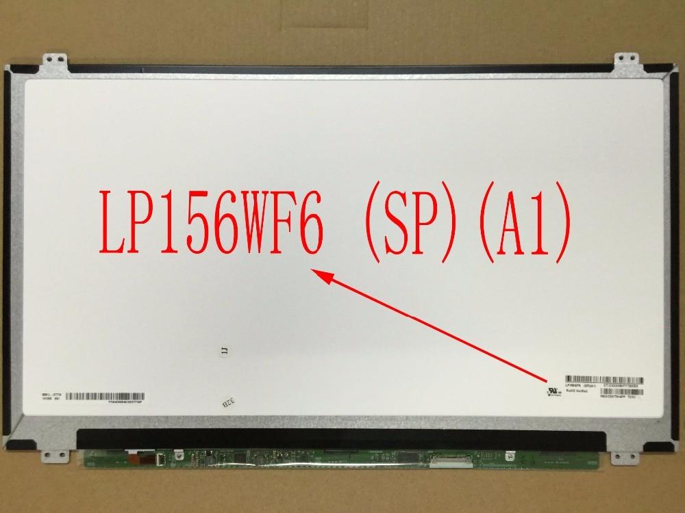 For Toshiba Satellite P55W P55W-C5200 LCD LED Screen LP156WF6  SPA1 LP156WF6 (SP)(A1) LP156WF6-SPA1 Original New ttlcd 15 6 lcd led screen for gateway ms2273 ms2274 ms2285