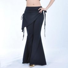 Belly Dance Pants Lady Costume Dance Tribal Bellydance Clothes Ladies High Waist Trousers Practice Clothes Dance Wear
