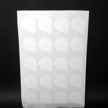 100pcs disposable Eyelash glue holder Pallet Extension pads stand on eyelash jade stone small size 2.5cm