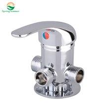 Бесплатная доставка DN15 (G1/2) латунь термостатический смесительный клапан Солнечный водонагреватель Электрический водонагреватель смесительный клапан высокого качества