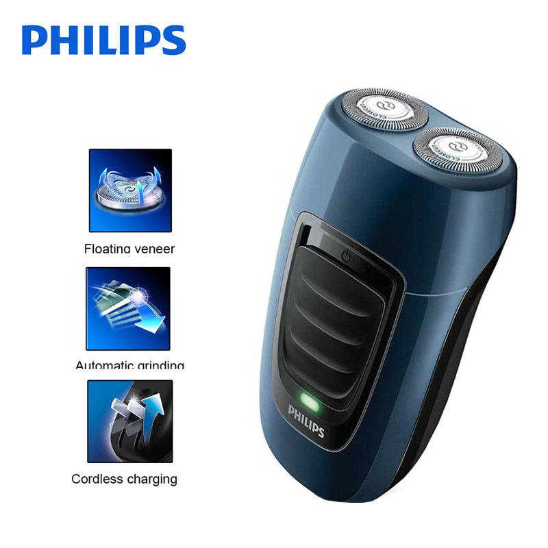 Original Philips Electric Shaver PQ190 Rechargeable With Ni-MH Battery For Men's Electric Razor Independent Two Floating Heads