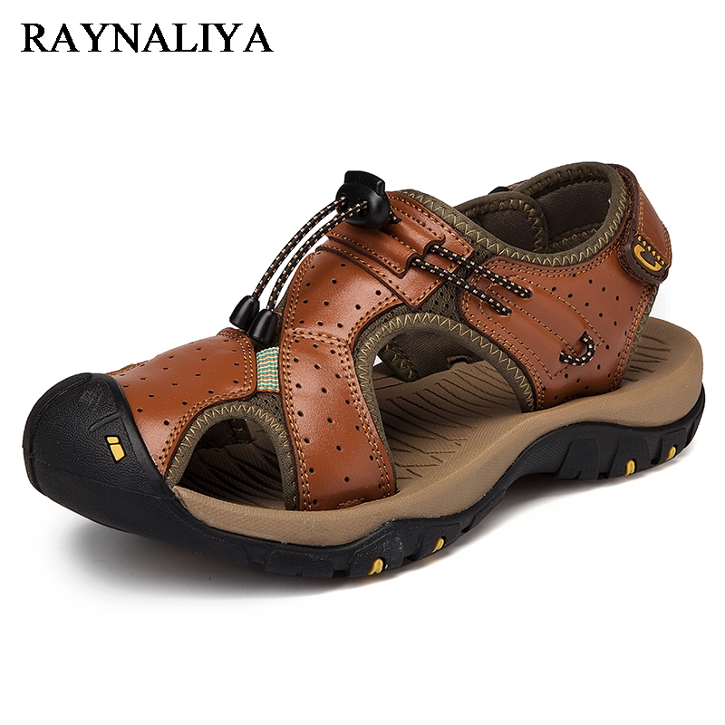 Nya Outdoors Mens Beach Sandals Sommar Mjuka Mäns Casual Shoes 2018 - Herrskor