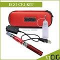 Электронная Сигарета EGO CE4 Комплекты 1.6 мл Распылитель 650,900, 1100 мАч EGO T Батареи Молния Кожаная Сумка CE4 Премиум комплекты