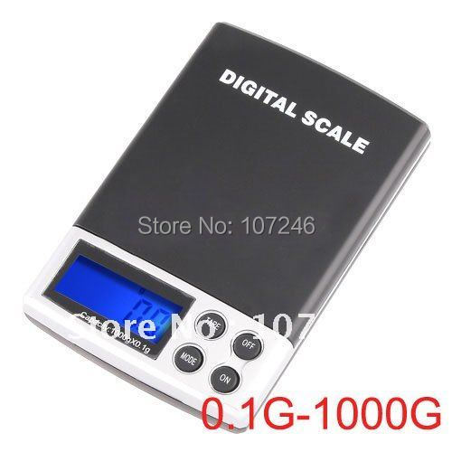 6PCS Mini Pocket Electronic Digital Diamond Jewelry Gem Scales Weight Range 0.1g~ 1000G Portable scales g/oz/ozt/dwt/ct