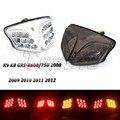 Светодиодный задний фонарь для мотоцикла Suzuki GSXR  интегрированный хром-стоп-сигнал для Suzuki GSXR  GSX-R  600  750  2008-2012  K8  K9