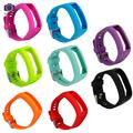 Silicone Wrist Sports Bands Strap Holder Watchband for Garmin Vivo Smart HR Heart Rate Monitor Activity Tracker